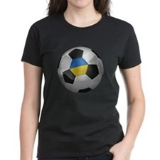 Ukrainian soccer ball Tee