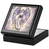 Beautiful Angel Keepsake Box