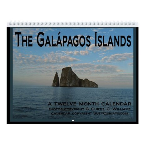 The Galapagos Islands Wall Calendar