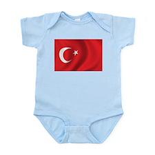 Flag of Turkey Onesie