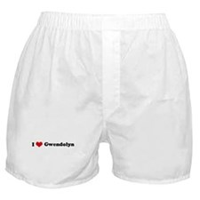 I Love Gwendolyn Boxer Shorts