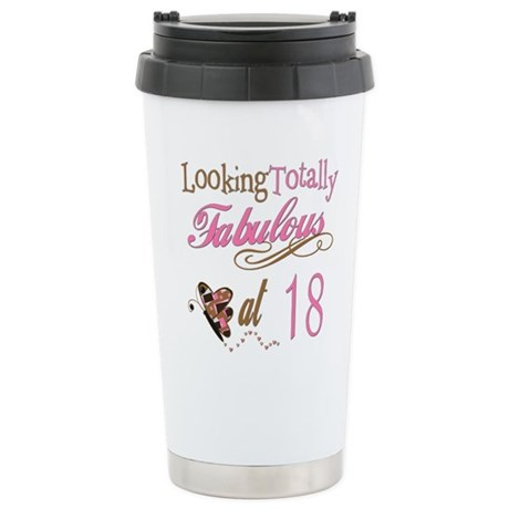 Fabulous 18th Ceramic Travel Mug