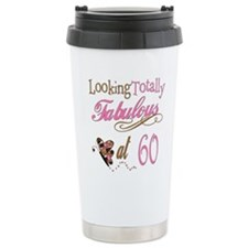 Fabulous 60th Thermos Mug
