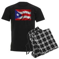 Flag of Puerto Rico Pajamas