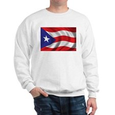 Flag of Puerto Rico Sweatshirt