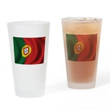 Flag of Portugal Drinking Glass