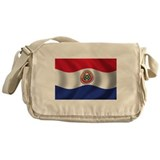 Flag of Paraguay Messenger Bag