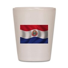 Flag of Paraguay Shot Glass