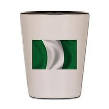 Flag of Nigeria Shot Glass