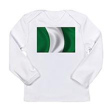Flag of Nigeria Long Sleeve Infant T-Shirt