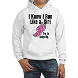 Run Like a Girl Jumper Hoody