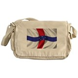 Flag of the Netherlands Antilles Messenger Bag