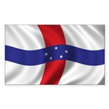 Flag of the Netherlands Antilles Decal