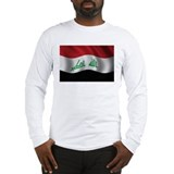Flag of Iraq Long Sleeve T-Shirt
