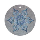 Harvest Moon's Snowflakes Ornament (Round)