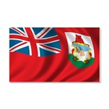 Flag of the Bermudas Car Magnet 20 x 12