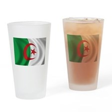 Flag of Algeria Drinking Glass