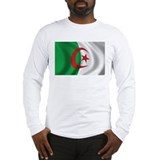 Flag of Algeria Long Sleeve T-Shirt