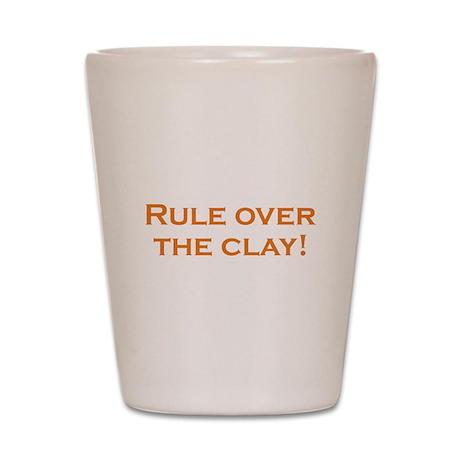Rule / Clay Shot Glass