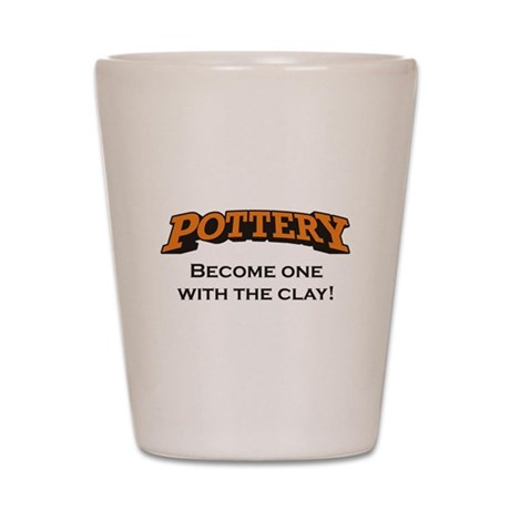 Pottery / Clay Shot Glass