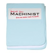 I'm a Machinist baby blanket