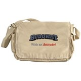 Buddhist / Attitude Messenger Bag