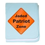 Jaded Patriot baby blanket