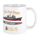 USS Port Royal (CG-73) Small Mug