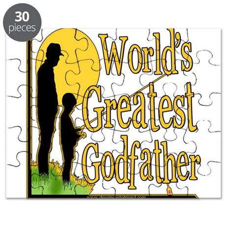 World's Greatest Godfather Puzzle