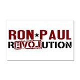 Ron Paul Star Car Magnet 20 x 12