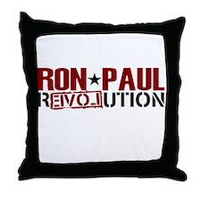 Ron Paul Star Throw Pillow