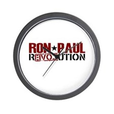 Ron Paul Star Wall Clock