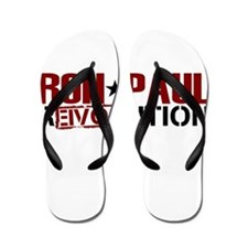 Ron Paul Star Flip Flops