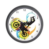 Motocross Wall Clock