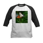 .swallowtail on candy lily. Kids Baseball Jersey