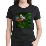 .swallowtail on candy lily. Women's Dark T-Shirt