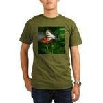 .swallowtail on candy lily. Organic Men's T-Shirt