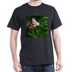 .swallowtail on candy lily. Dark T-Shirt