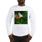 .swallowtail on candy lily. Long Sleeve T-Shirt