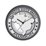 Salvador South Brazil LDS Mis Wall Clock