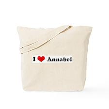 I Love Annabel Tote Bag