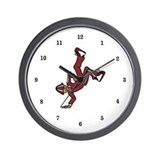 Break Dancer Wall Clock