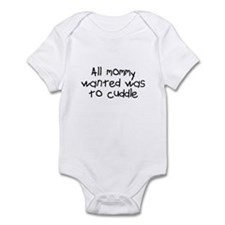 Mommy Wanted A Backrub Infant Bodysuit