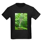 .garden spider. Kids Dark T-Shirt