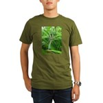 .garden spider. Organic Men's T-Shirt (dark)