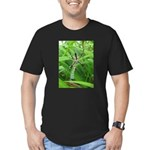 .garden spider. Men's Fitted T-Shirt (dark)