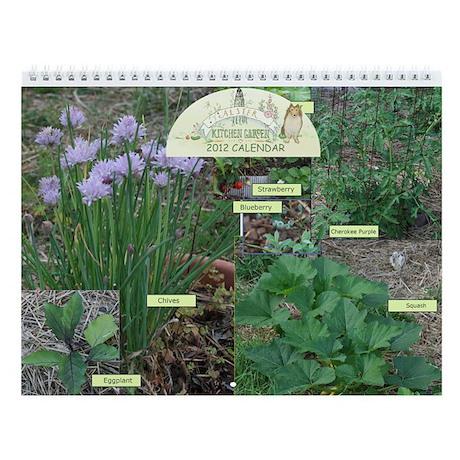 Alster Kitchen Garden Wall Calendar 2013