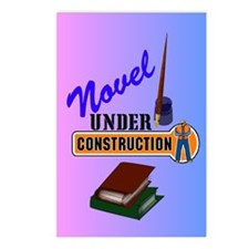 Novel Under Construction Postcards (Package of 8)