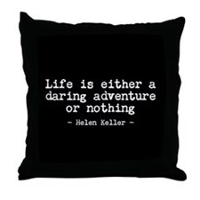 Life's Adventure Throw Pillow