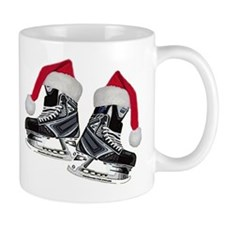 Funny Ice skating christmas Mug